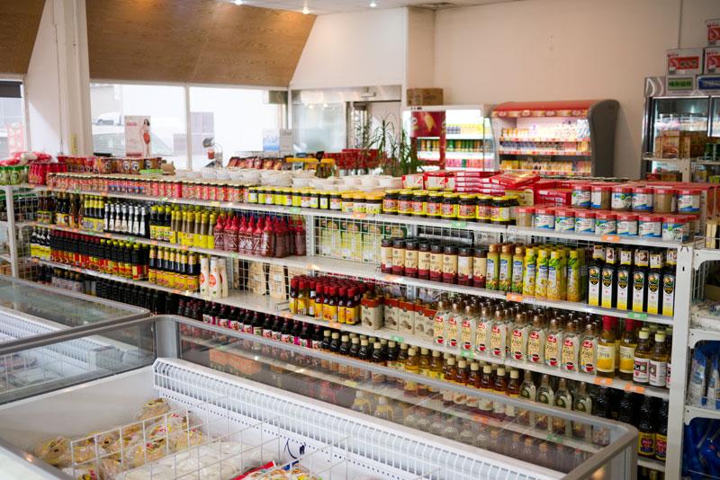 korean grocery Asian