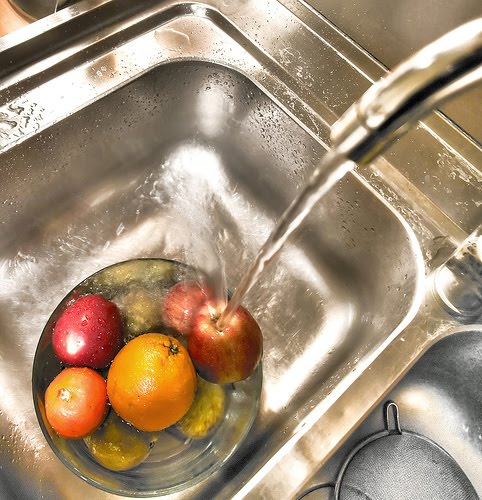 What to wash fruit with