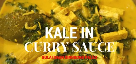 Kale in Curry Sauce