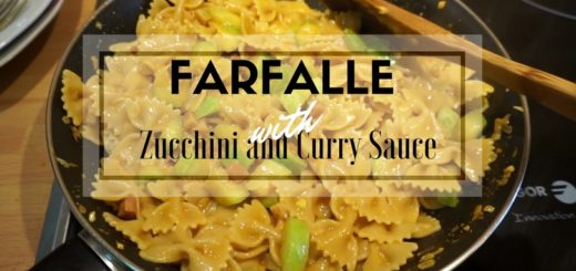 FARFALLE WITH CURRY SAUCE