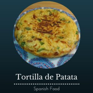 tortilla de patata - spanish omelette